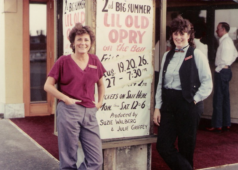 Suzie Walberg-Newton and Julie Griffey 1983