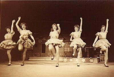 Tammy Culley, Liz Nevin, Wendy Bingham-Helling, Bonnie Chambers, Star Roberts 1984