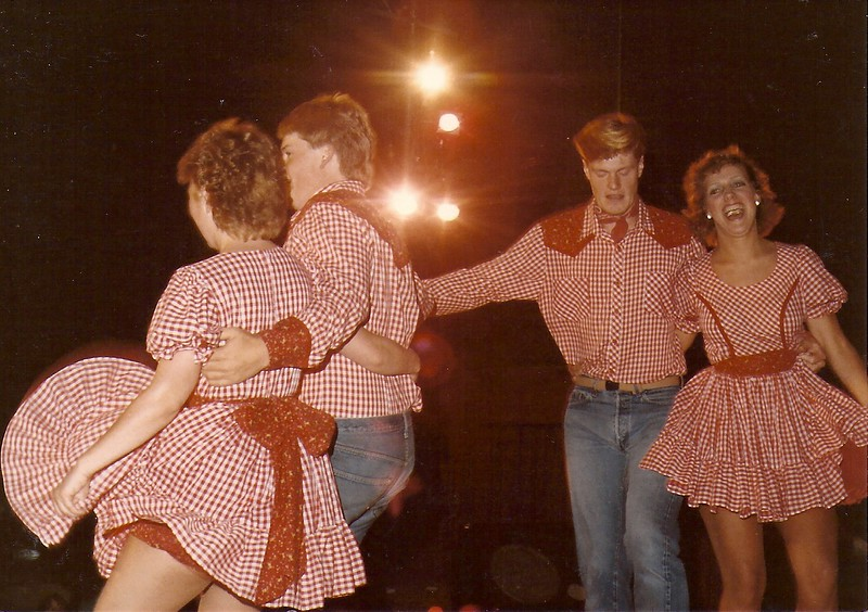 Tammy Culley, Tom Boynton, Mike DeLapp and Liz Nevin 1984
