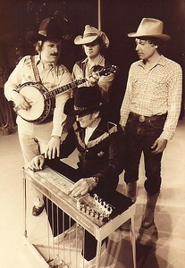 "Fred Corbett, Jim ""Spook"" Flanagan, Dwain Rayburn, Dave Andrist 1984"
