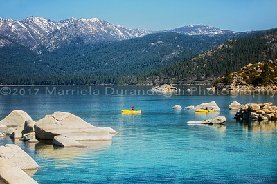 Blue Waters of Tahoe