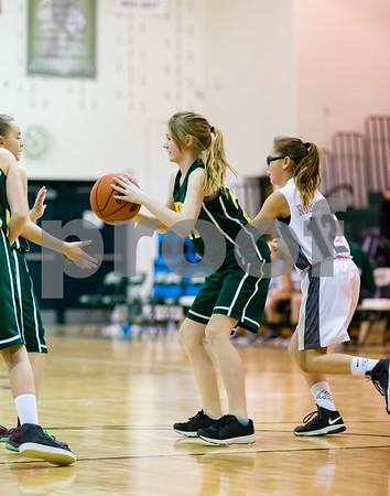 Little Raiders Basketball 1-26-18