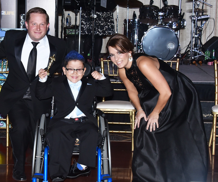 Justin Grass, President Little Smiles, Little Star Yair Bonilla and Stephanie Tomko, Executive Director of Marketing and Fundraising at Little Smiles PA,