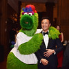 Phillies Phanatic and Earl Lee