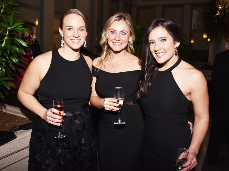 Jennifer Kicak, Danielle Pollicino and Meghan Sansoni