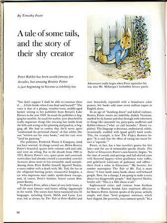 Beatrix Potter: A tale of some tails