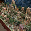Thomas Casey Hopkins of Westminster brought his Little Town of Bethlehem to the Fitchburg Senior Center for the second year. He made all of the buildings by hand out of styrofoam but he bought the figurines. SENTINEL & ENTERPRISE/JOHN LOVE