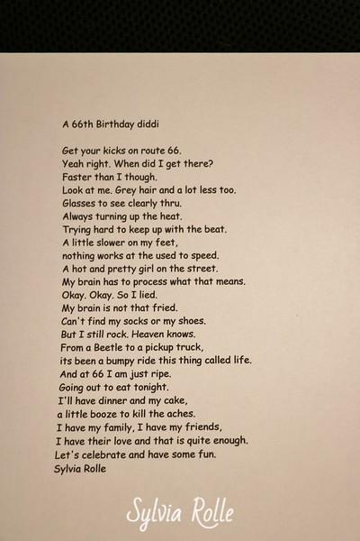 66 Birthday diddi