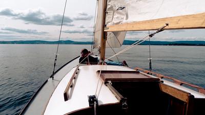 Første seiltur (© Ragnar Våga Pedersen)