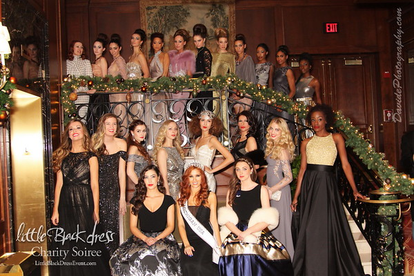 2014 Little Black Dress Charity Soiree :: The Townsend Hotel 11.21.14