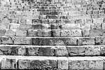 9162 Sfat steps  bw