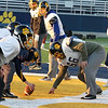 Littleton High School football held a practice on Wednesday to get ready for Saturday's Super bowl game at Gillette Stadium. SUN/JOHN LOVE