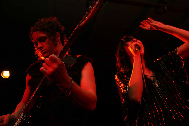 Nico Vega, Magic Stick, Detroit, Michigan, December 14, 2009