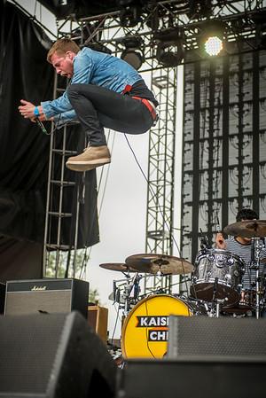 Kaiser Chiefs, Dover DE, 2014.