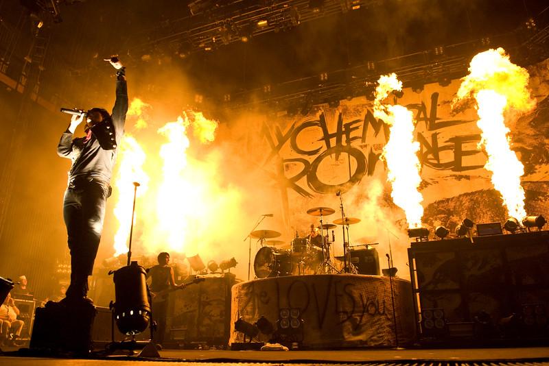My Chemical Romance, Camden NJ, 2007.