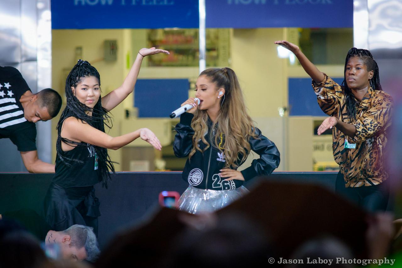 Ariana Grande Today show Concert 8/29/14