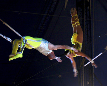 The Cole Brothers circus comes to the Shinnecock Reservation, 12 July 2010.
