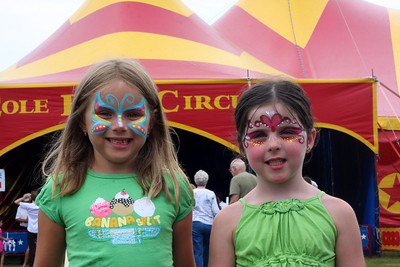 The Cole Brothers circus comes to the Shinnecock Reservation, 18 July 2011.