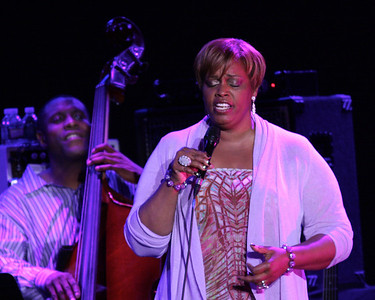 Dianne Reeves at the Westhampton Beach Performing Arts Center, 08 June 2012.