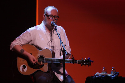 Mike Doughty at the Westhampton Beach Performing Arts Center, 19 May 2012.