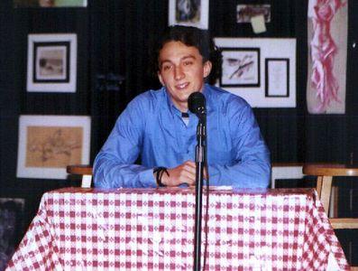 Poet's Cafe '02 -- Andrew