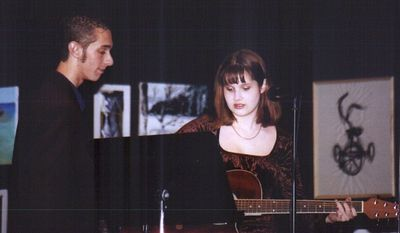 Poet's Cafe '02 -- Mike & Rachel