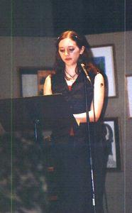 Poet's Cafe '01, Me.