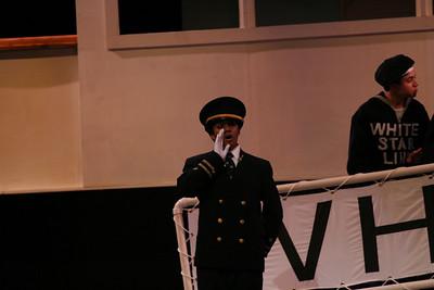 Titanic the Musical at the Westhampton Beach Senior High School, April 2008.