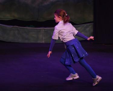 Jack & the Beanstalk, 19 February 2010: Abigail Kilroy as the Acrobat.