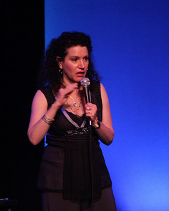 Susie Essman on stage at the Westhampton Beach Performing Arts Center, 30 May 2010.