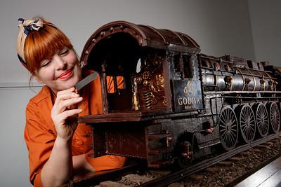 02/11/17 - Godiva  - Murder on the Orient Express - chocolate train