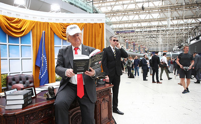 04/06/18 - The President is Missing - Book Promotion