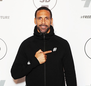 07/12/2017 - Sports Direct - Rio Ferdinand launches his new FIVE collection