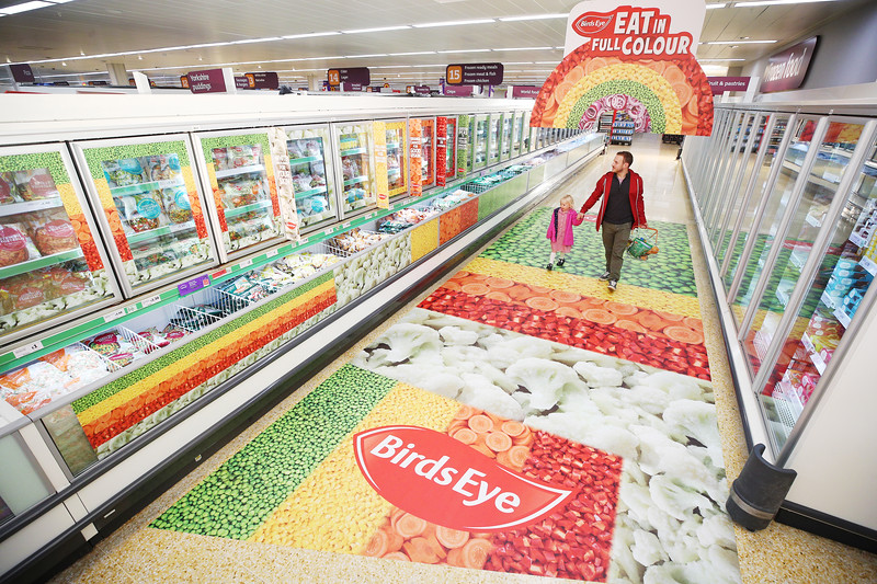 Birds Eye - Eat in Full Colour Campaign