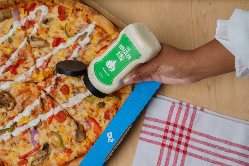 Domino's Garlic and Herb Drizzler Bottles