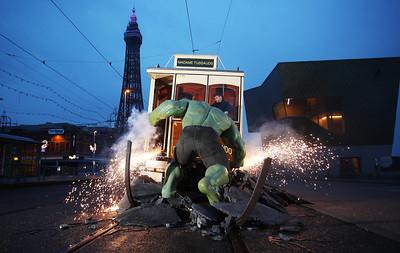 15/03/18 - Madame Tussauds Blackpool - MARVEL SUPERHEROES Launch