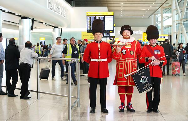 15/05/18 Heathrow Royal Wedding Promotion