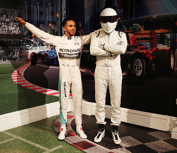 16/03/18 - Top Gear - The Stig at Madame Tussauds
