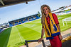 Carolyn Radford CEO of Mansfield Town Football Club pictured at Home and at Field Mill the home of Mansfield Town FC<br /> Pictures by Paul Currie/PinPep Media