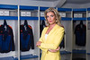 Carolyn Radford CEO of Mansfield Town Football Club pictured in the changing rooms at Field Mill the home of Mansfield Town FC<br /> Pictures by Phil Oldham/PinPep Media