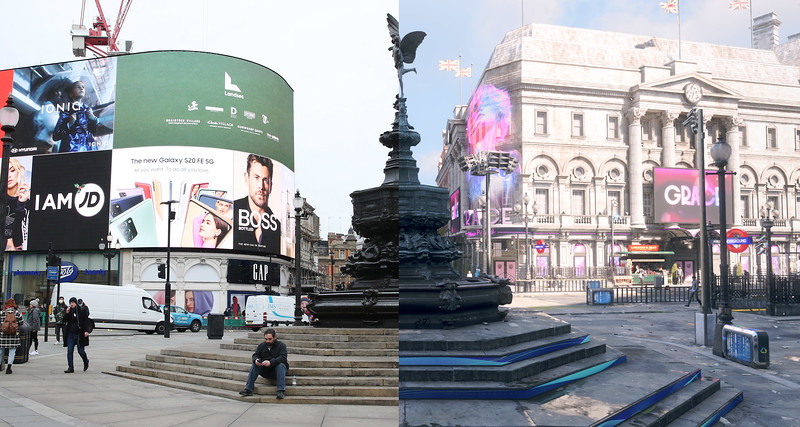 NVIDIA : Virtual London Gallery