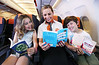 Dame Jacqueline Wilson launches easyJet Book Club