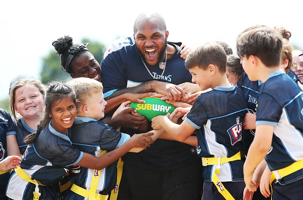 18/7/18 Summer Bowl, the season finale of the NFL Flag football tournament for UK schools in partnership Subway.