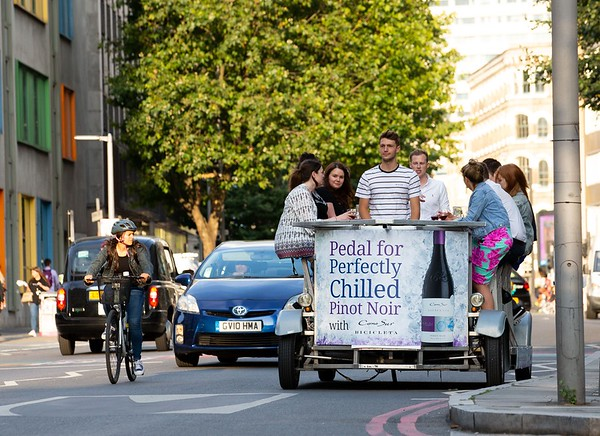 21/07/19 Pedalling for Pinot in London