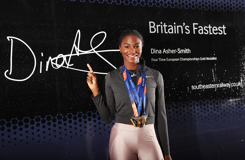 Dina Asher-Smith Southeastern