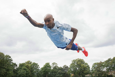 21/6/18 - Sir Mo Farah and Disney launch the Incredibles 24 Hour Challenge