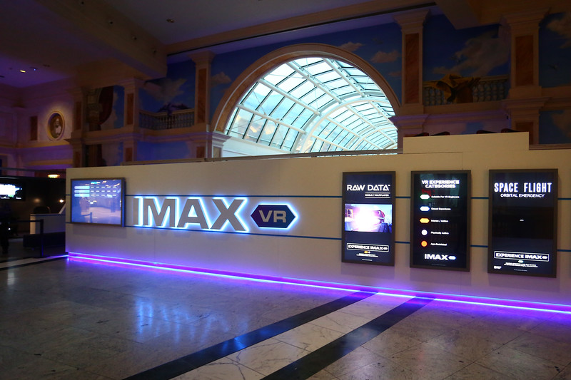 IMAX VR Experience Launch, Manchester 22nd Nov 2017