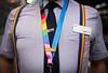 Pride train staffed by all LGBTQ+ crew