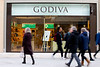 Luxury Belgian Chocolatier 'Godiva' opens its first boutique store outside of London - 24 Nov 2017