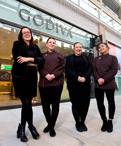 24/11/17  - Luxury Belgian chocolatier, Godiva opens a new boutique in Oxford